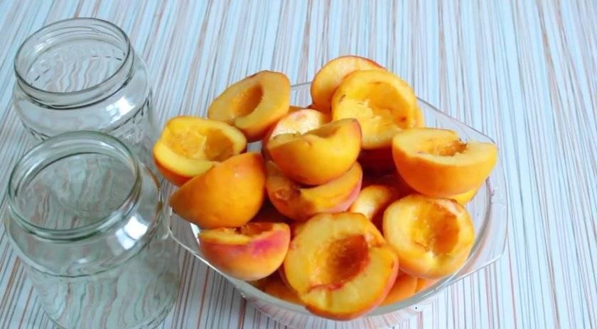 Персики в сиропе на зиму: 4 лучших рецепта консервации, как сделать в домашних условиях