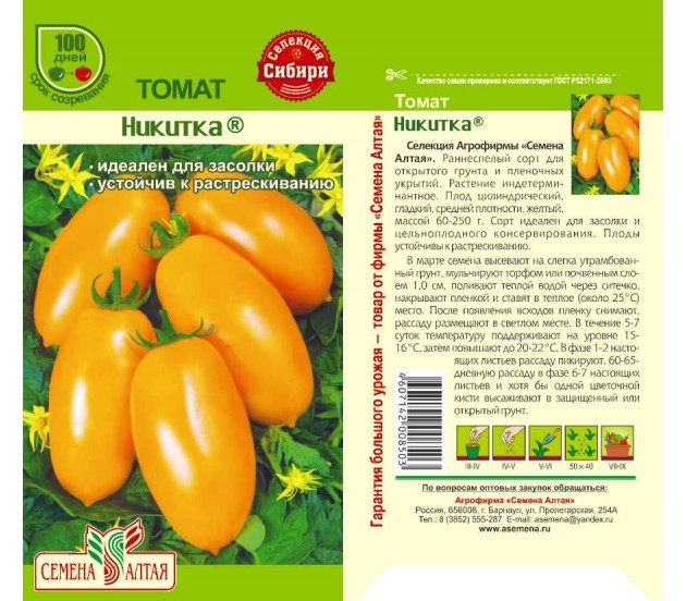 Описание томата Желтый шар, выращивание рассады и уход за кустами