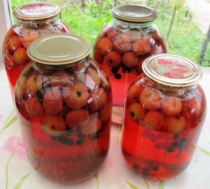 Компот из яблок на 3 литровую банку: рецепты без стерилизации
