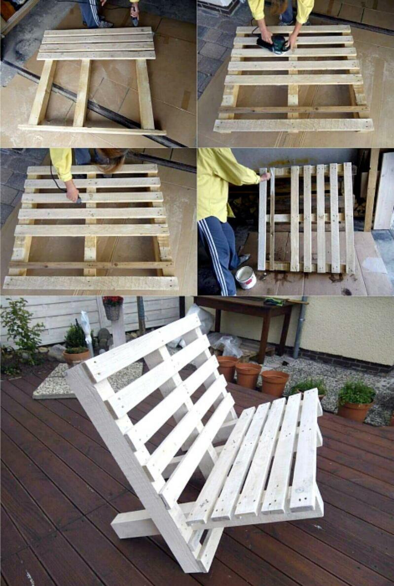 Только лучшие варианты мебели из деревянных поддонов