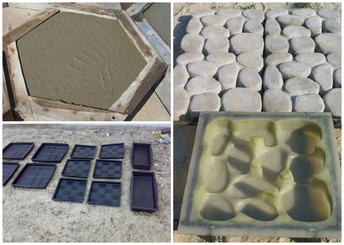 Садовые дорожки своими руками из бетона на даче: как сделать, пошаговая инструкция