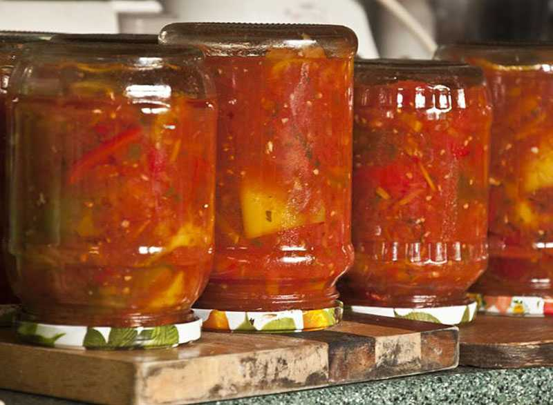 16 лучших рецептов приготовления заготовок из перца и помидоров на зиму