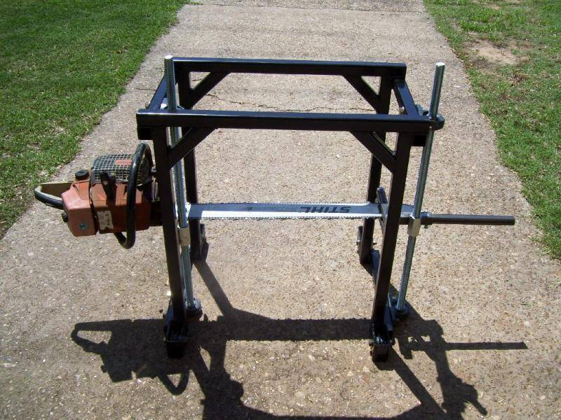 Самодельная шинная пилорама на базе бензопилы урал электрон - самоделкин друг