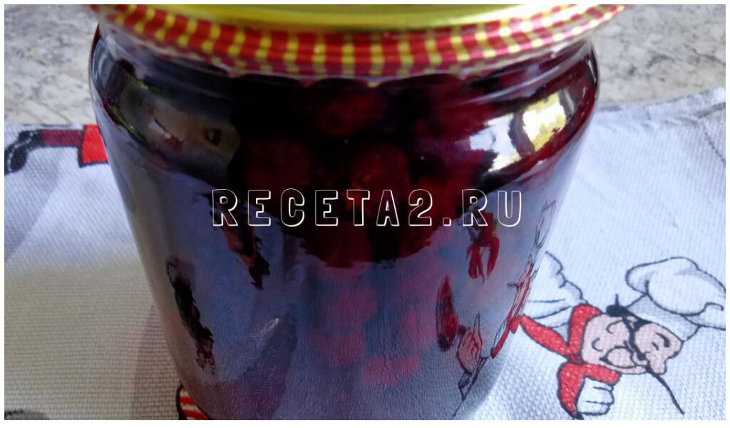 Варенье из вишни без косточек на зиму простой рецепт густое, пятиминутка, пошагово с фото видео