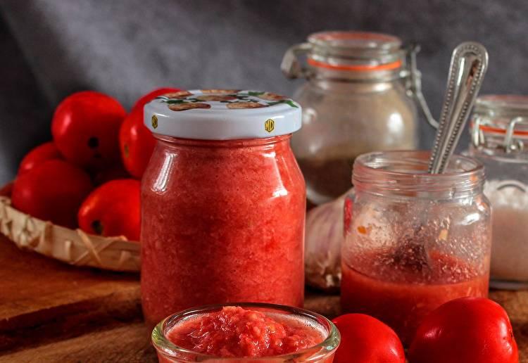 Горлодер из помидор с чесноком на зиму - рецепты с хреном, перцем, из желтых и зеленых томатов