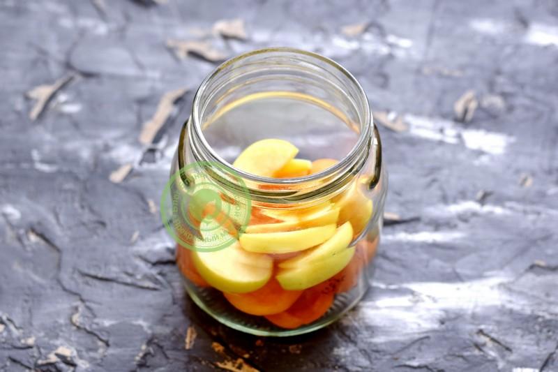 Компот из яблок на зиму на 3 литровую банку — 15 простых рецептов яблочного компота