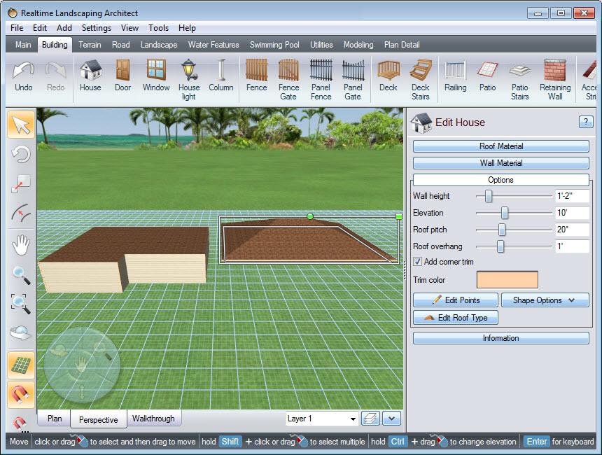 Урок 27 — булевы операции (boolean-операции) для создания сложных форм в программе realtime landscaping architect   flokus.ru - ландшафтный дизайн