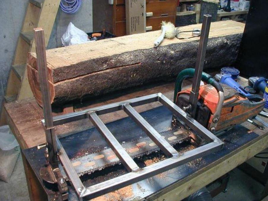 Пилорама из бензопилы своими руками как сделать быстро и легко – мои инструменты