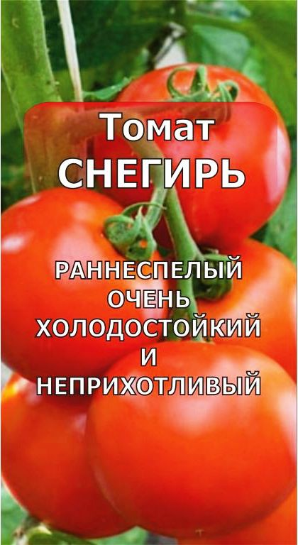 ✅ томат снегирек характеристика и описание сорта - питомник46.рф
