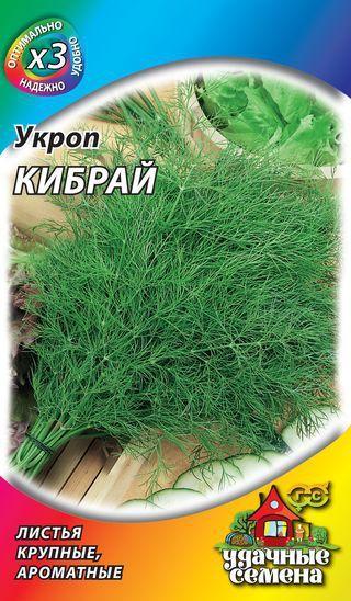 Укроп кибрай: описание сорта, агротехника культуры