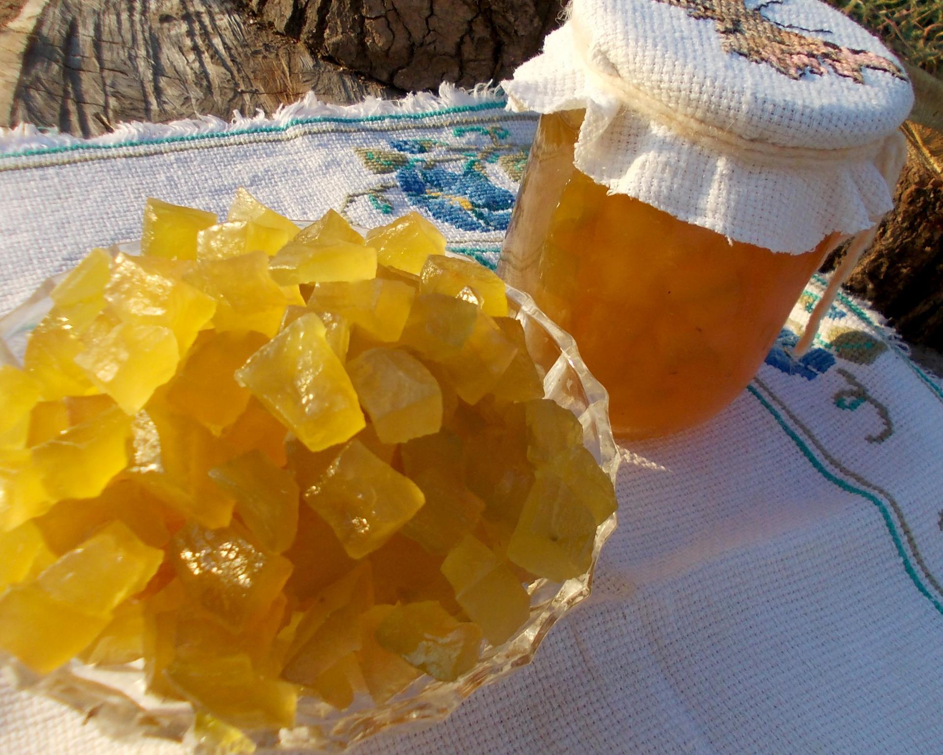 Как приготовить цукаты из арбузных корок