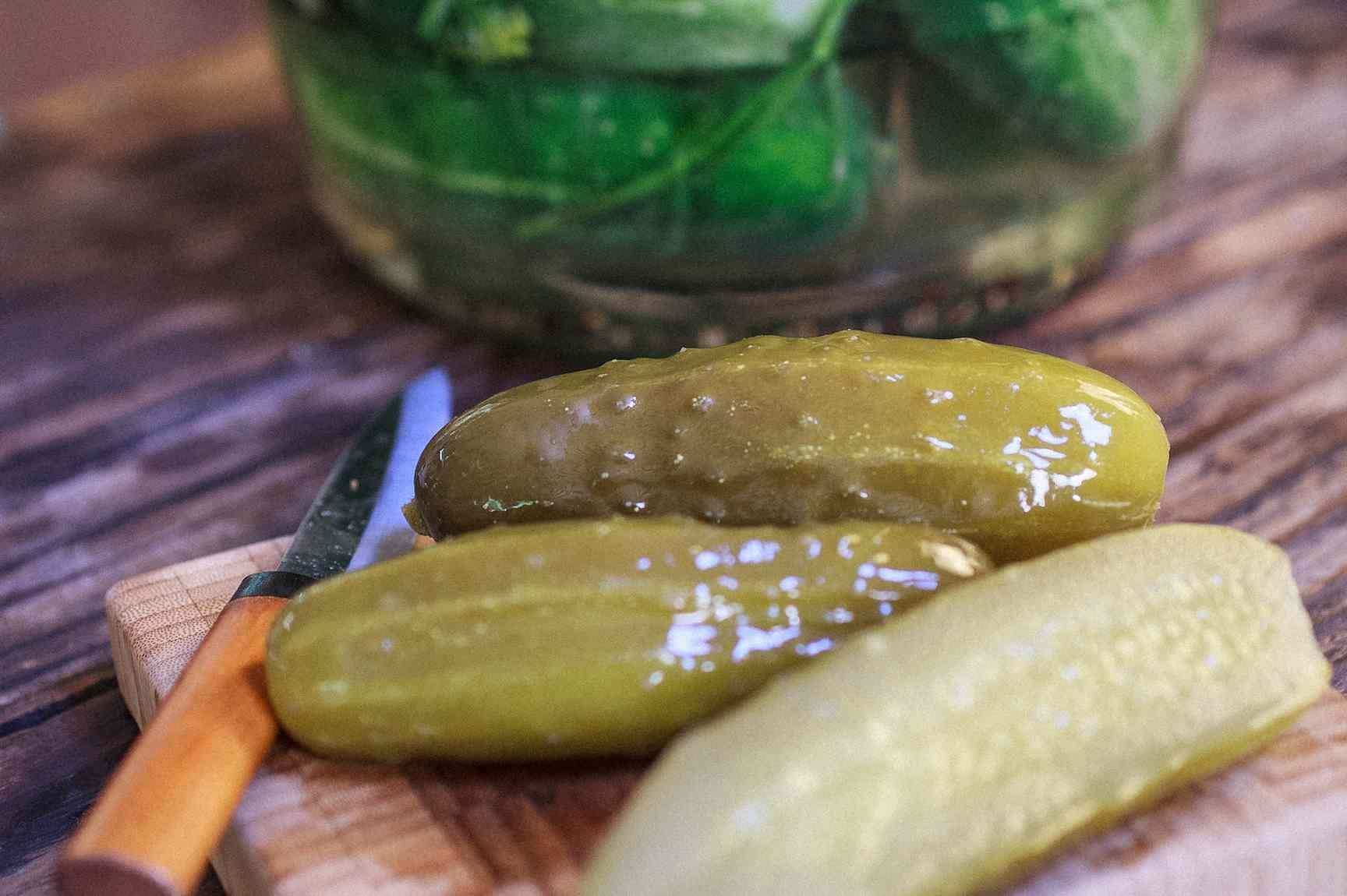 Огурцы соленые холодным способом — пошаговый рецепт с фото