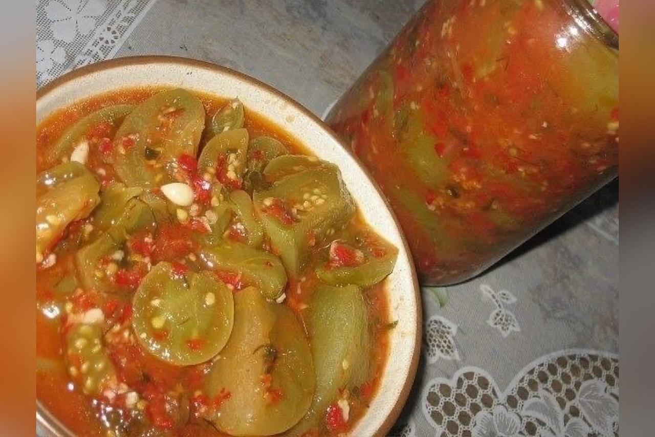 Зеленые помидоры в аджике: 11 лучших рецептов приготовления на зиму, хранение