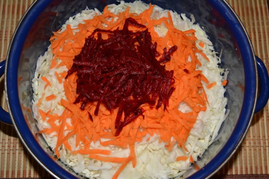 Капуста маринованная быстрого приготовления рецепт со свеклой