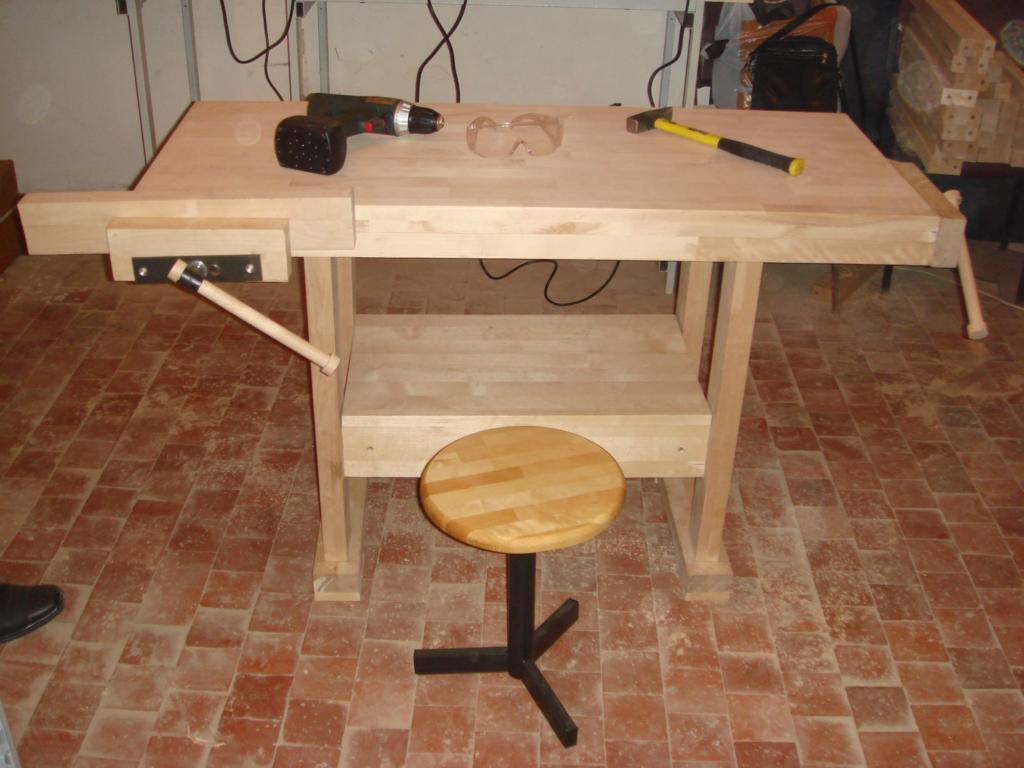 Столярный верстак: изготовление по чертежу устройства для дома и дачи