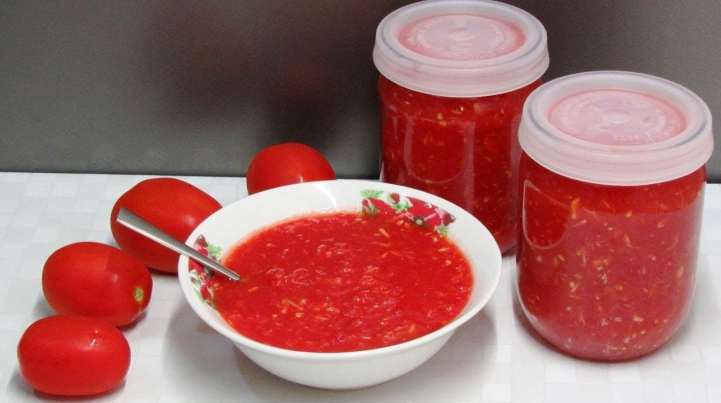 Хреновина с помидорами и чесноком на зиму, чтобы не закисла: 10 лучших рецептов – рецепты с фото
