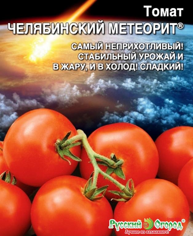 Выращивание томата челябинский метеорит