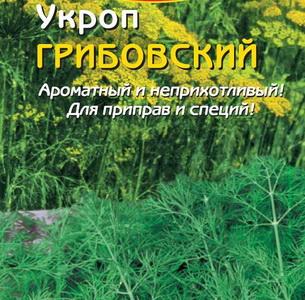 Укроп грибовский: описание, фото и история сорта, отличия от других видов, правила выращивания на огороде и дома и применение в лечебных целях