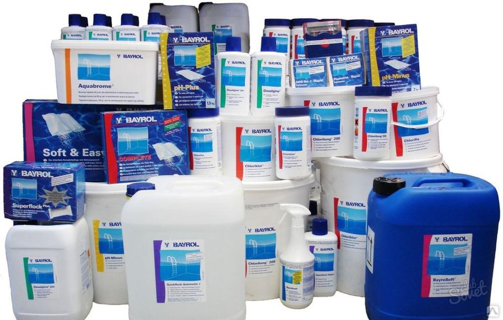Химия для бассейнов: как выбрать, какие средства лучше