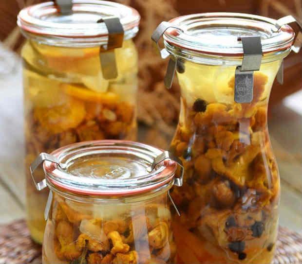 Как солить лисички на зиму в банках: рецепты приготовления в домашних условиях с фото
