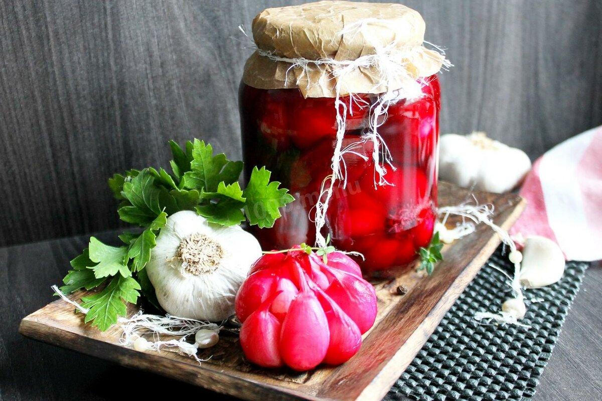 Топ 10 рецептов приготовления маринованного чеснока с крыжовником или виноградом на зиму