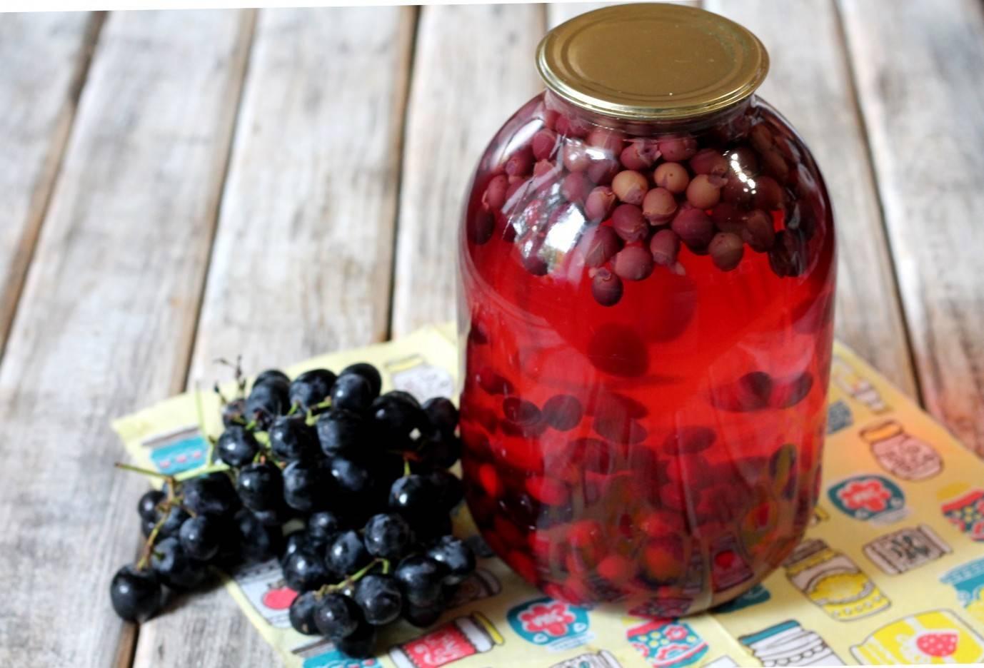 Компот из яблок на зиму: 15 рецептов на 3-литровую банку, советы