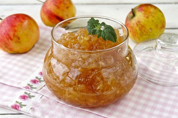 Конфитюр из яблок в домашних условиях, простой рецепт