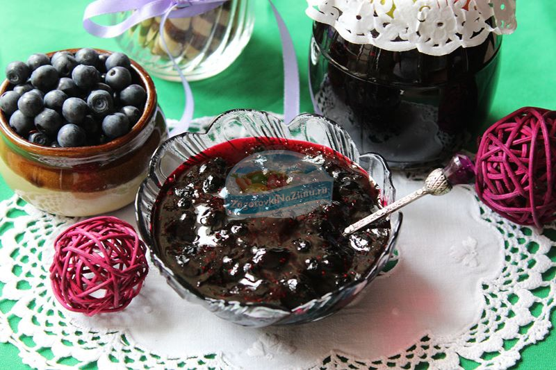 Простые пошаговые рецепты приготовления варенья из черники «Пятиминутка» на зиму