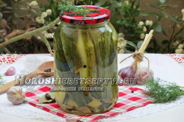 Кабачки по-болгарски на зиму: рецепты маринования с фото и видео