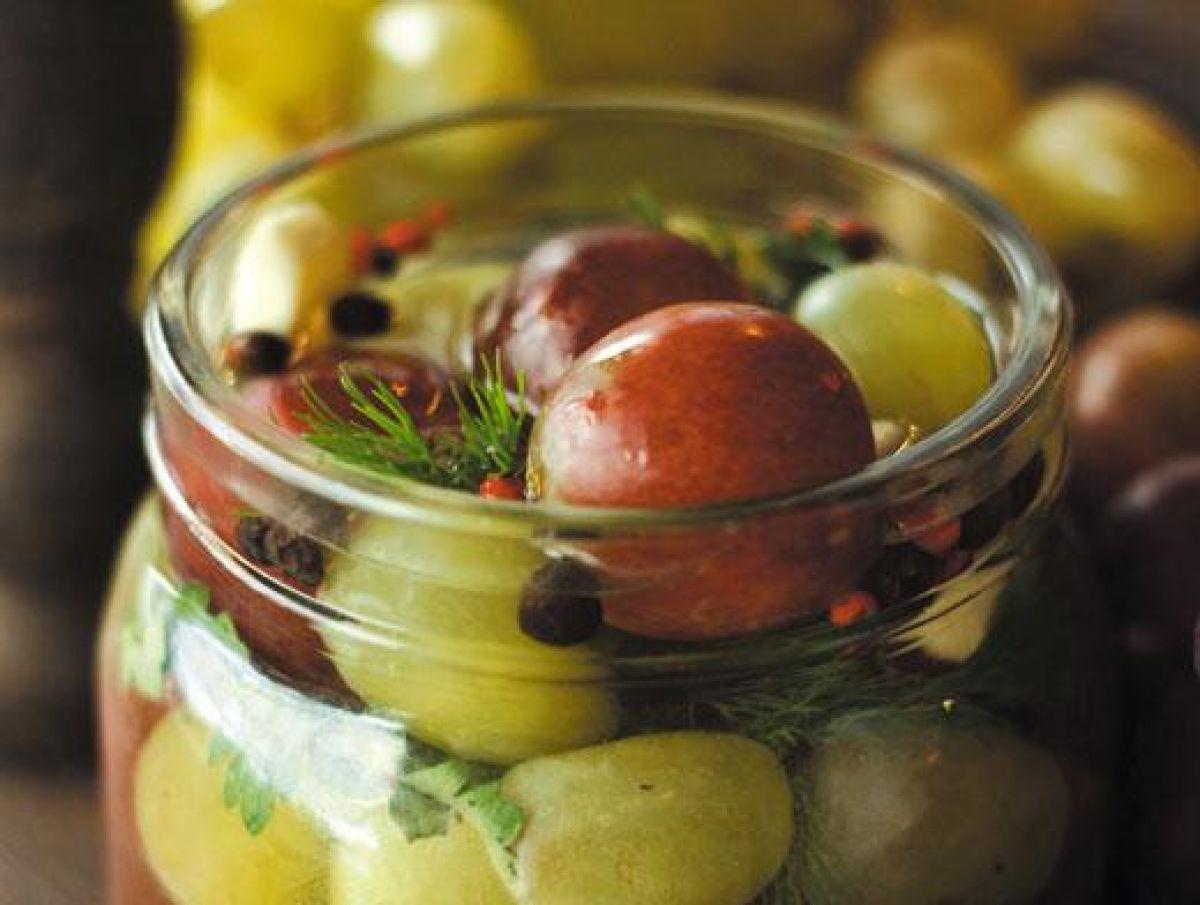Маринованный виноград. лучшие рецепты на зиму