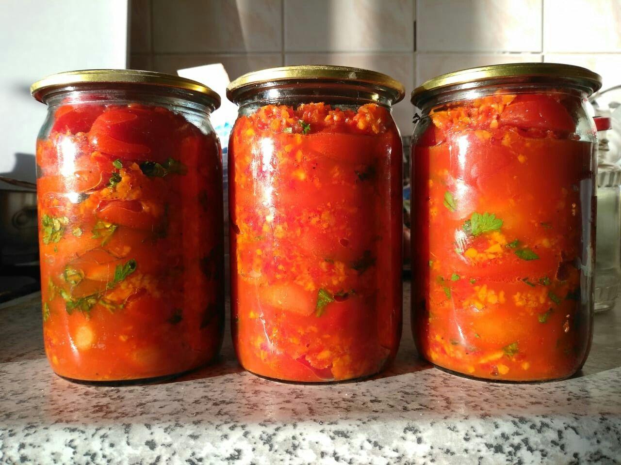 Маринованные помидоры по-корейски – самые вкусные рецепты