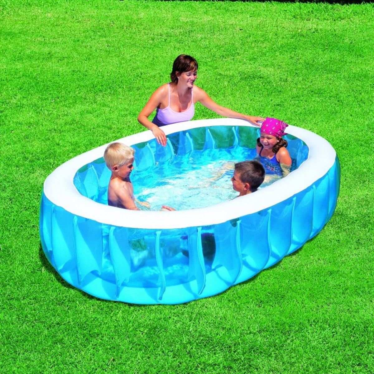 Как правильно ухаживать за уличным каркасным бассейном?