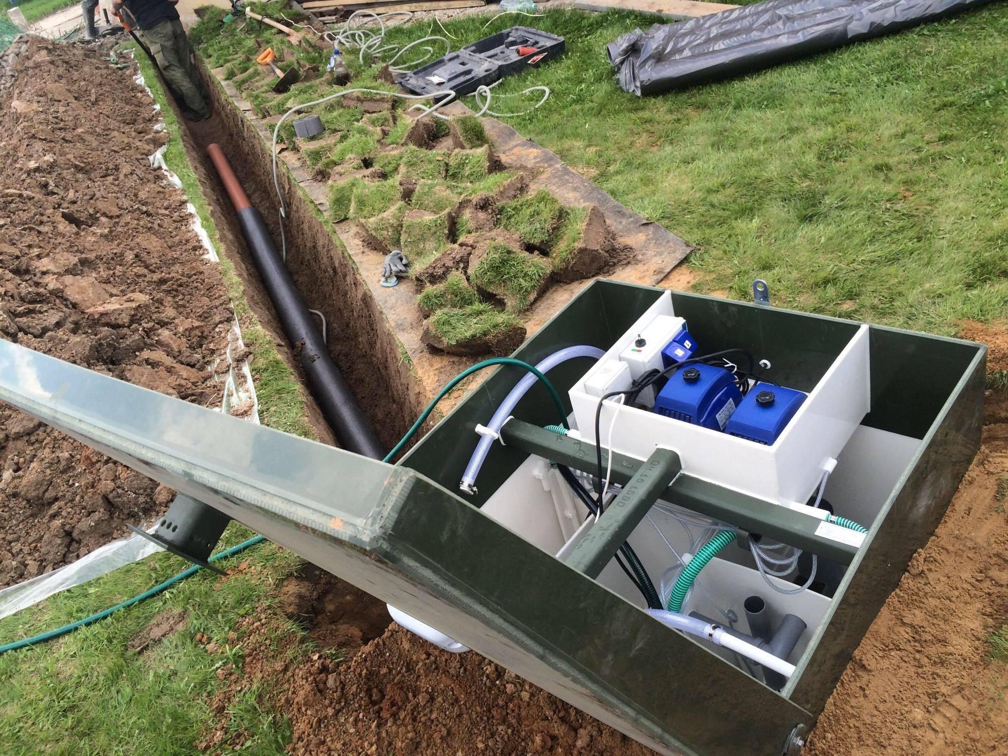 Как сделать слив на даче грязной воды из дома: варианты автономной канализации
