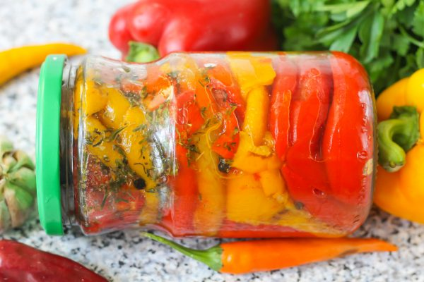Перец, печеный на зиму – аппетитная заготовка для разных консерваций