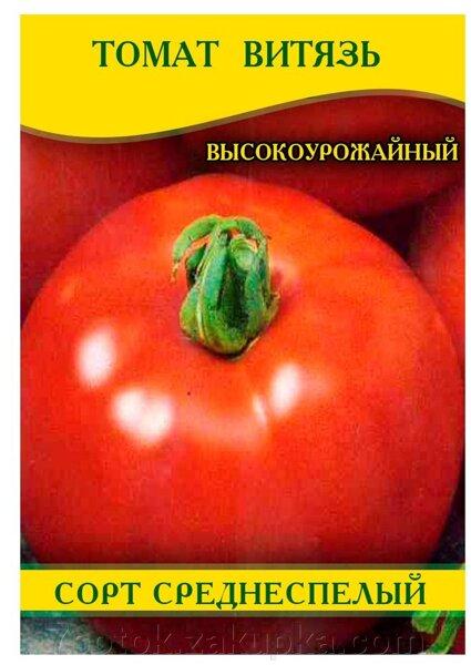 Описание томата Витязь и правила выращивания сорта