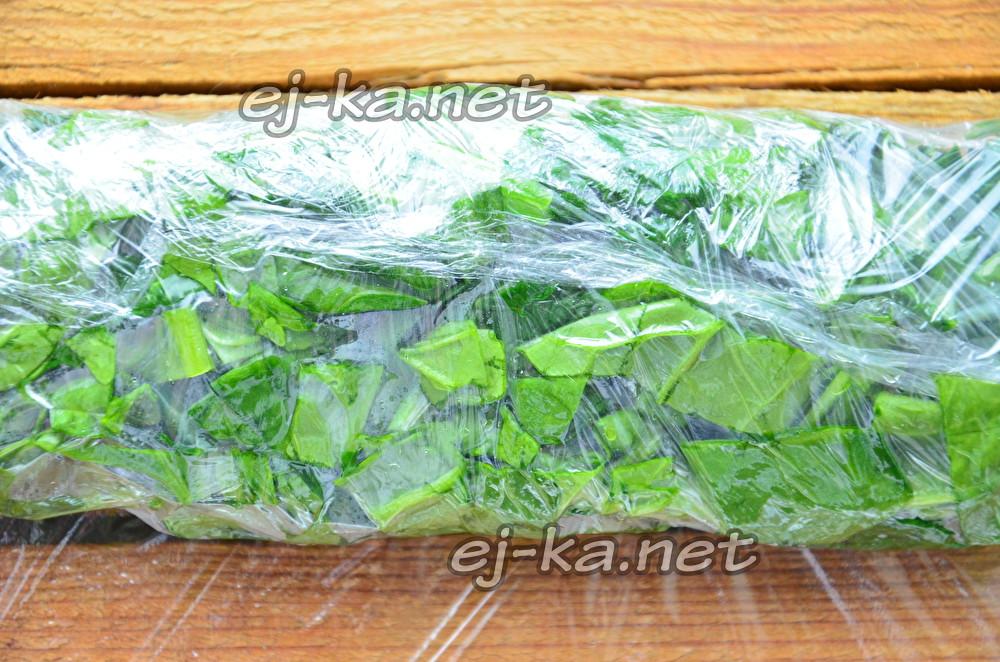 Заморозка шпината на зиму - рецепт, как заготовить зелень в домашних условиях