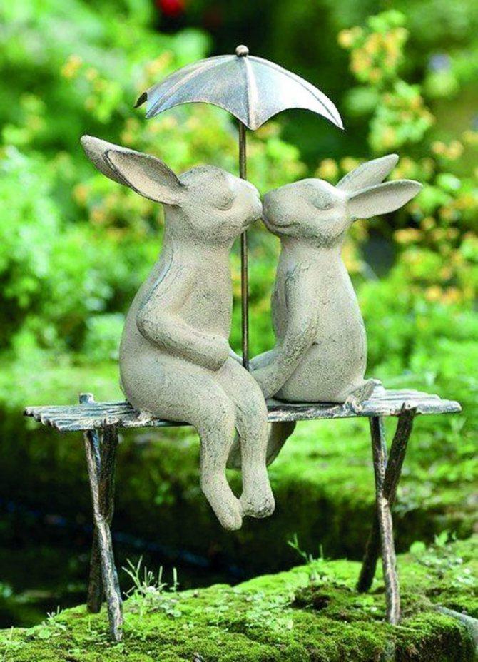 Оригинальные фигуры из цемента: 4 мастер-класса по изготовлению садовых скульптур
