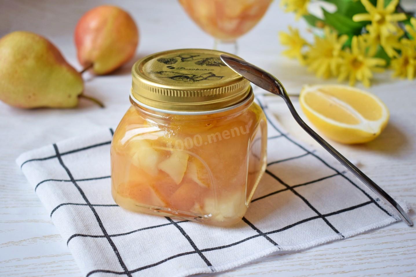 Варенье из груш и яблок на зиму — пошаговый рецепт с фото