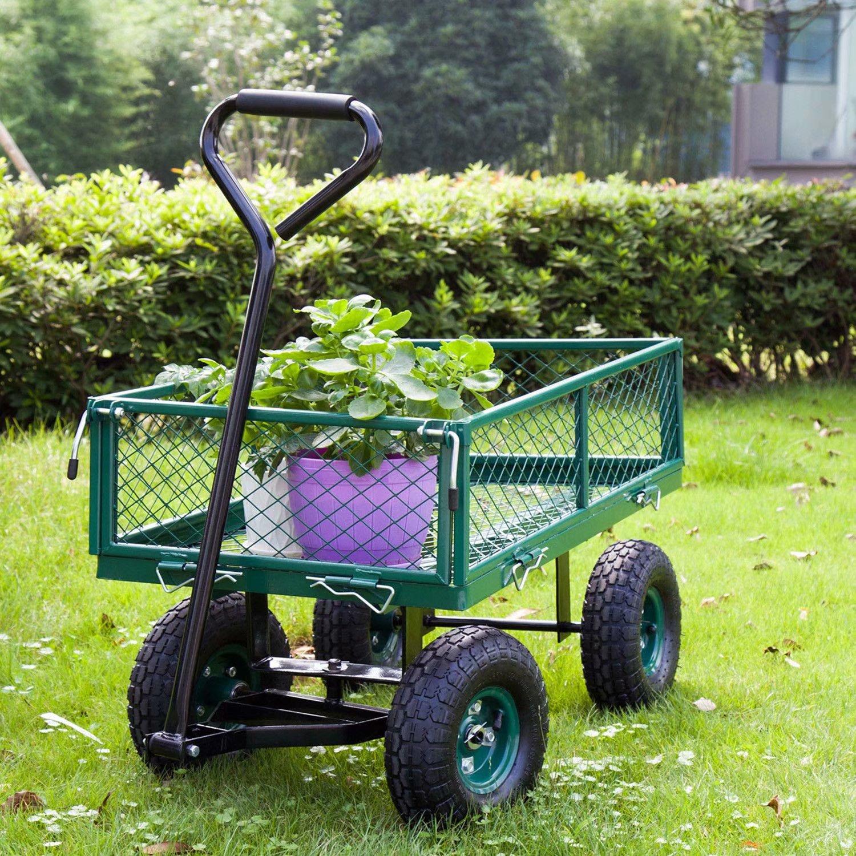 Тележка своими руками - 63 фото идеи красивых тачек для сада