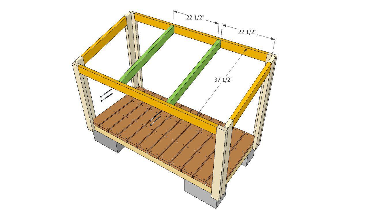 Дровяник для дачи своими руками: чертежи и пошаговая инструкция - строительство и ремонт