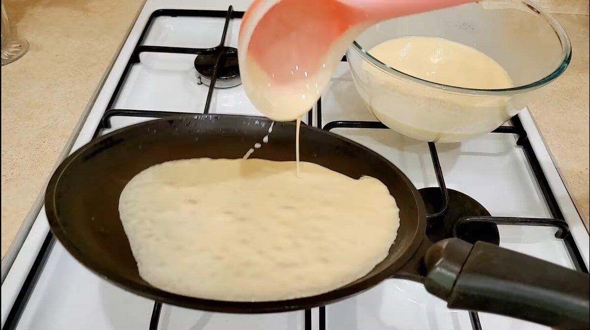 Ажурные блины на сливках рецепт с фото - 1000.menu