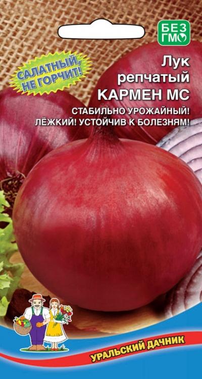 Лук кармен: описание и характеристика сорта мс, посадка под зиму и уход за красным севком, отзывы об урожайности и фото луковиц