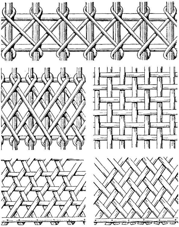 Красивый и оригинальный плетёный забор из досок своими руками