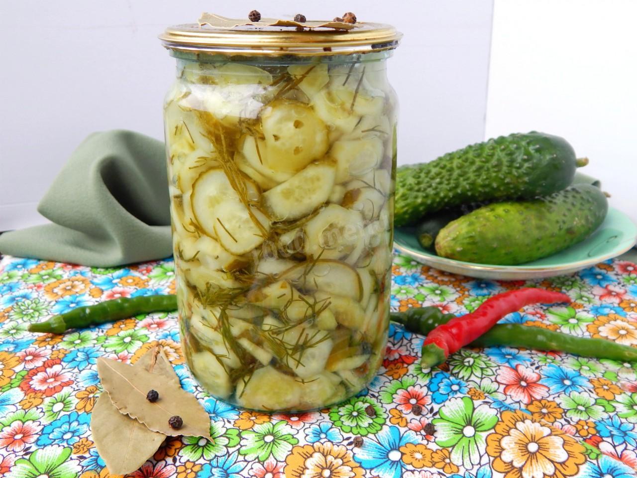 15 рецептов приготовления на зиму маринованных сладких огурцов