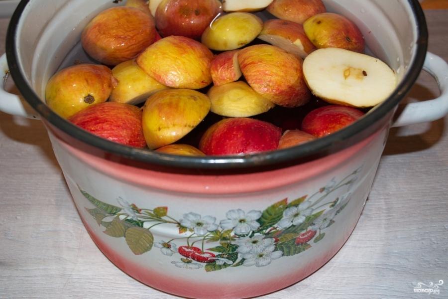 Как варить компот из яблок и слив: просто и вкусно!