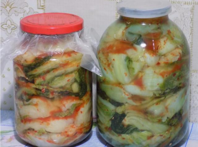 Пекинская капуста рецепты приготовления на зиму