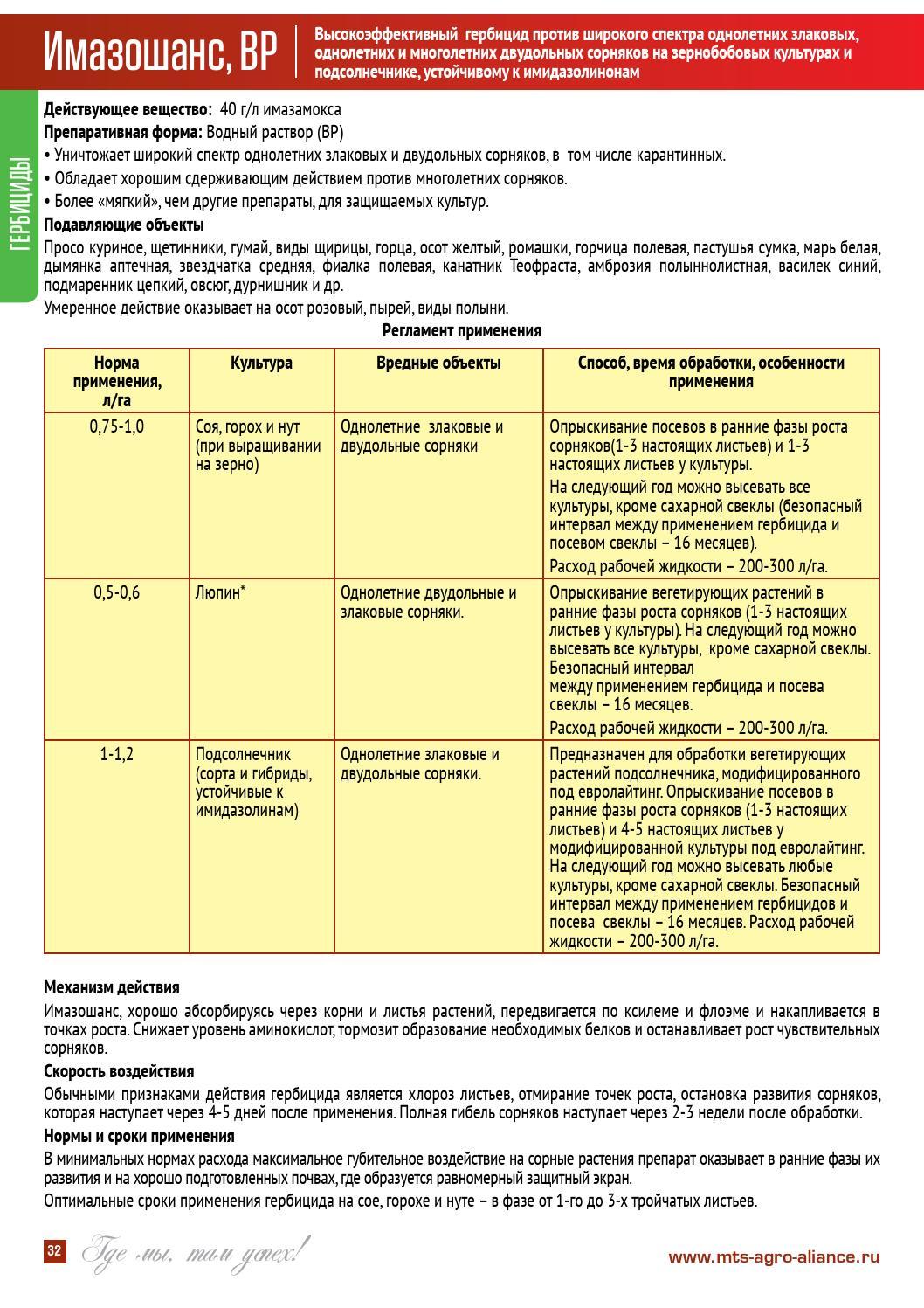 Применение гербицидов при выращивании свеклы