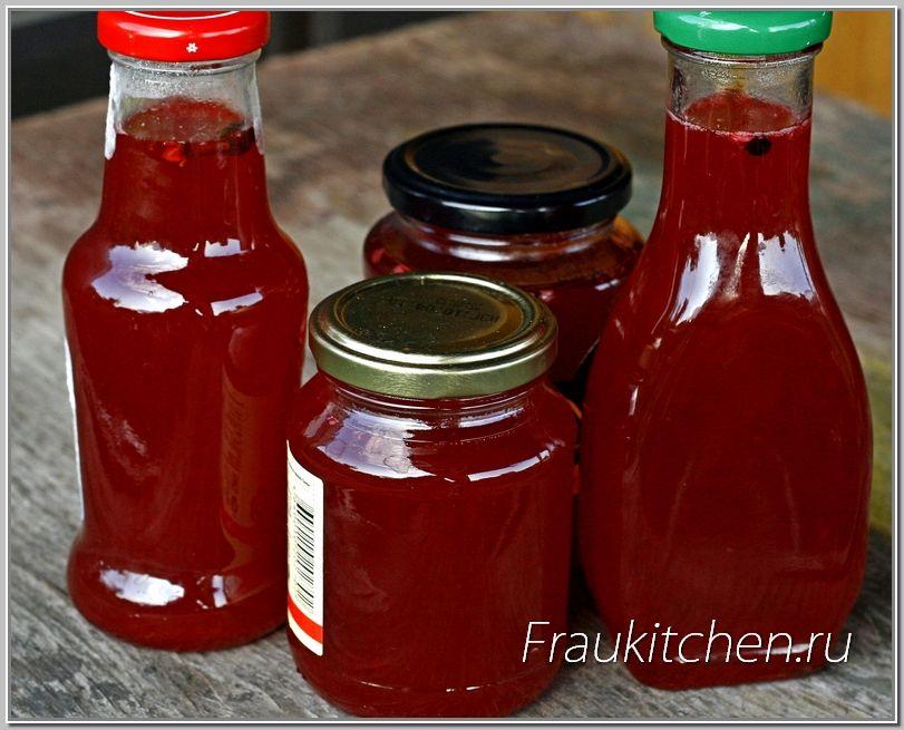 Соус из красной смородины на зиму: можно ли подавать к мясу и рыбе и какие есть рецепты, есть ли бесподобный способ приготовления кетчупа, как он хранится
