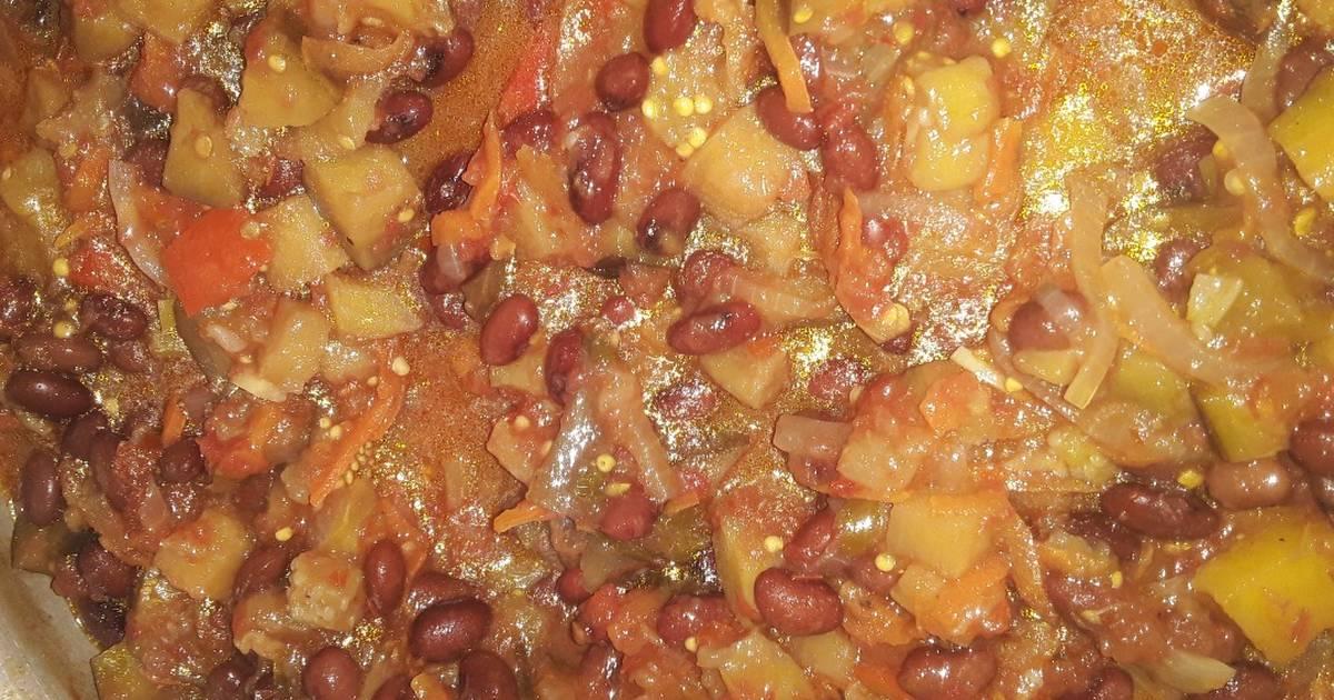 Баклажаны с фасолью на зиму: 7 лучших рецептов приготовления с фото