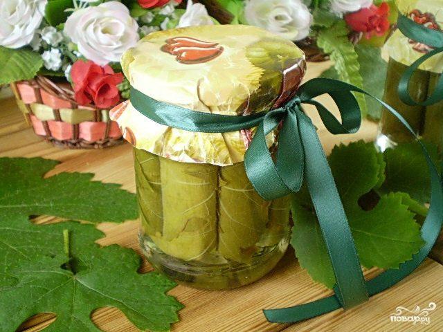 Заготовка виноградных листьев на зиму для долмы, рецепты